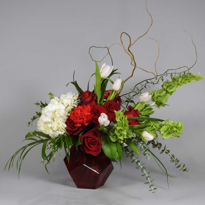 Porterfield's Flowers Valentine's Day arrangement, Art of Love