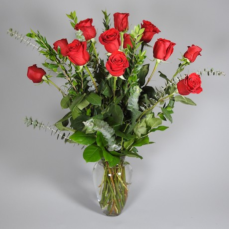 Porterfield's Flowers Valentine's Day arrangement, Elegant Beauty
