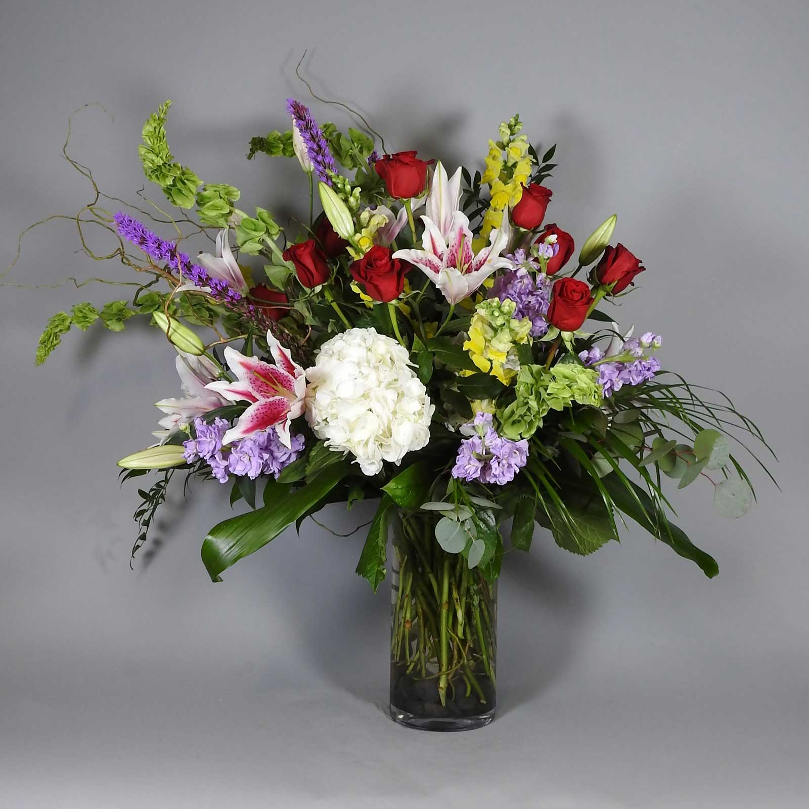 True Romance - Porterfields Flowers Valentines Arrangement